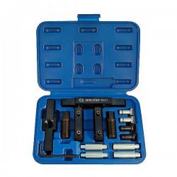 Набор для монтажа и демонтажа амортизатора из рычага подвески, 15 предметов KING TONY 9BJ11