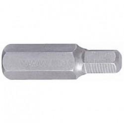 Вставка (бита) торцевая 10 мм, HEX, 8 мм, L 36 мм KING TONY 163608H