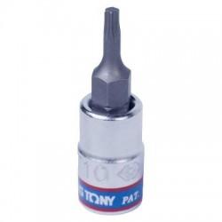 """Насадка (бита) торцевая 1/4"""", TORX T10, L 37 мм KING TONY 203310"""