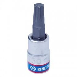 """Насадка (бита) торцевая 1/4"""", TORX T30, L 37 мм KING TONY 203330"""