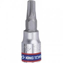 """Насадка (бита) торцевая 1/4"""", TORX T40, L 37 мм KING TONY 203340"""