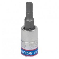 """Насадка (бита) торцевая 1/4"""", HEX, 4 мм, L 37 мм KING TONY 203504"""