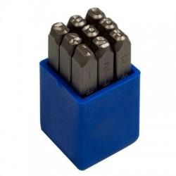 Набор ударных клейм 5 мм, цифры, 9 предметов KING TONY 11409SQ05