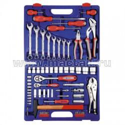 Набор инструментов 72 предмета МАСТАК Plus M-072C