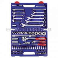 Набор инструментов 82 предмета МАСТАК Plus M-082C