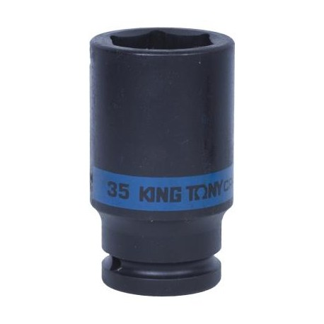 "Головка торцевая ударная глубокая шестигранная 3/4"", 35 мм KING TONY 643535M"