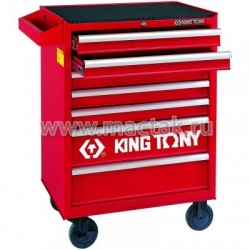 Тележка инструментальная, 7 ящиков KING TONY 87434-7B