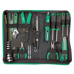 Набор инструментов электронщика дюймовый, 34 предмета UNISON 90134SQ01US
