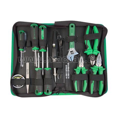 Набор инструментов универсальный, 12 предметов UNISON 90112PQ01US