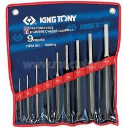 Набор выколоток, 9 предметов KING TONY 1009PR